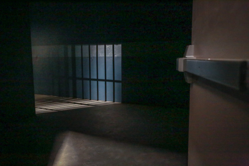 jail cell film space