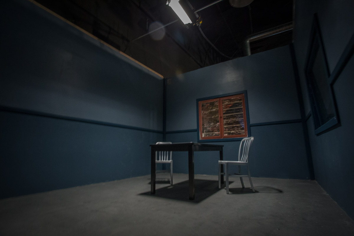 interrogation room standing set in los angeles